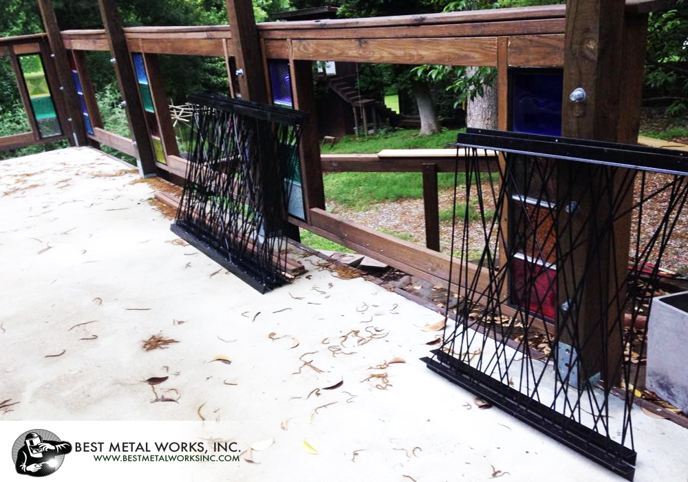 Residence Patio Railings 2