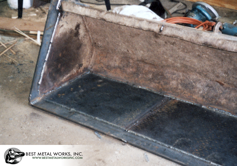 Kubota Bucket Repair 2