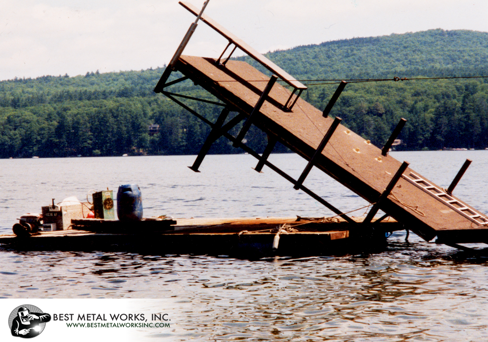 Dock on Lake Sunapee 3